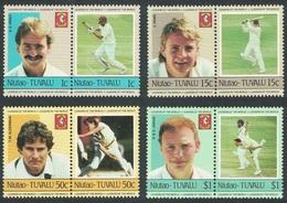 1985Tuvalu Niutao21-28PaarCricket8,00 € - Cricket