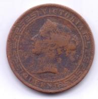 SRI LANKA - CEYLON 1870: 5 Cents, KM 93 - Sri Lanka