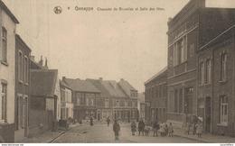 Genappe - Chaussée De Bruxelles Et Salle Des Fêtes - Vue Animée - 2 Scans - Genappe