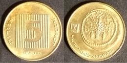 Israel - 5 Agora 1995 Used (is017) - Israel