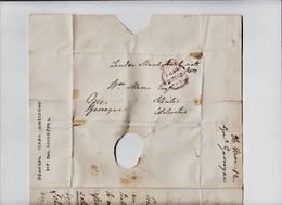 "1812 'FREE'  Two Page Letter Signed By Liverpool M.P. ""Lieutenant-General Gascoyne, Hertford St, London"".    Ref 0768 - Handtekening"