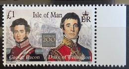 Isle Of Man 2015 MNH - Waterloo 200 , Napoleon's Campaign - Isla De Man