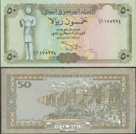 Nordjemen (Arabische Rep.) Pick-Nr: 27A, Signatur 9 Bankfrisch 1993 50 Rials - Yemen