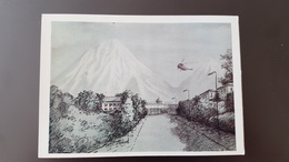 RUSSIA. Petropavlovsk-Kamchatsky. Old Airport Station - Aeroport  . With Helicopter 1975 - Elicotteri
