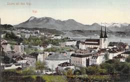 SUISSE Swiss ( LU LUCERNE ) LUZERN Mit Dem RIGI - Jolie CPA Colorisée - Switzerland Schweiz Zwitsers Suizo Suíço - LU Lucerne