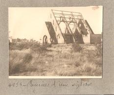 Foto Photo ( 6,5 X 8,5 Cm) Knokke Knocke Ruines D'une église - Knokke