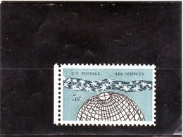 CG39 - 1963 Stati Uniti - Le Scienze - USA
