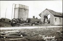 Photo Cp Fromelles Nord, Bahnhof, Kriegszerstörung 1. WK - Cartes Postales