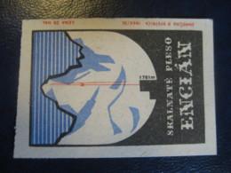 ENCIAN Skalnate Pleso 1761m Mountains Climbing Poster Stamp Vignette CZECHOSLOVAKIA Label - Arrampicata