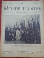 Le Monde Illustré N° 2753 1er Janvier 1910 Roi De Belgique Albert I Er,Attentat St Petersbourg,Gergovia Issoire Dentelle - Newspapers