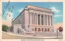 USA Mass. Worcester Memorial Auditorium - Worcester