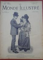 Le Monde Illustré N° 2743 23 Octobre 1909 Cérémonies à Wissembourg (Alsace Occupée),Conquète Ouadaï Tchad Sahara - Newspapers