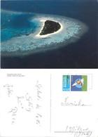 Maldives. Halaveli Dall'alto. Viaggiata - Maldivas