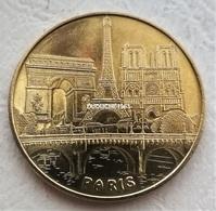 Monnaie De Paris 75 Paris - Tour Eiffel Les 3 Monuments De Paris 2015 - Monnaie De Paris