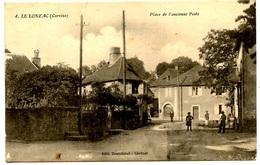 Le LONZAC - Place De L'ancienne Poste - Peu Courante - Voir Scan - Frankreich