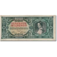 Billet, Hongrie, 100,000 Milpengö, 1946-04-29, KM:127, TTB - Hungary