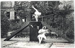 3 CPA Cazouls Les Béziers Les Alexandra's Acrobates 1910 état Superbe TOP - Autres Communes