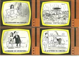 """Lot 12 CP """"La Télé""""    Vue Par Alexandre """" Voir Scans - Amtsberg, Otto"""