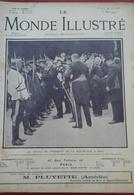Le Monde Illustré N° 2718 1er Mai 1909 Président République à Nice,Comédie Française Mlle DUDLAY,,Sultan Mehemet V - Newspapers