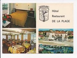 CP 13 SAUSSET LES PINS Hotel Restaurant De La Plage - Sonstige Gemeinden