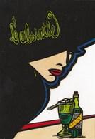 CPM Femme Women GLAMOUR Absinthe Alcool Style Art Nouveau Tirage Limité JIHEL / LARDIE (2 Scans) - Other Illustrators