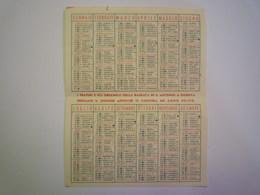2020 - 5719  PETIT CALENDRIER  1956  (Calendario  1956 Antoniano)   Format 7 X 11cm    XXX - Calendriers