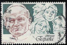 Espagne 1989 Oblitéré Used Le Pape Jean Paul II Et La Jeunesse SU - 1981-90 Usados
