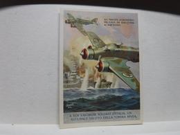 FRANCHIGIA   II  GUERRA  - ILL. GINO BOCCASILE -- ALI FASCISTE  DOMINATRICI Ecc..-- CREMA NIVEA - War 1939-45