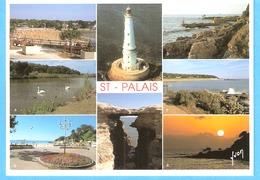 Saint-Palais Sur Mer (Royan-Charente Maritime)-Multivues-Plage Du Platin-Phare-Corniche-Lac-le Pont Du Diable.... - Saint-Palais-sur-Mer