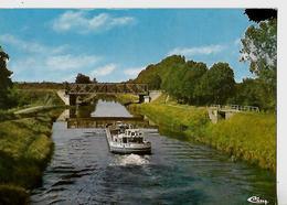 Carte 1986 / 44 BLAIN Canal De Nantes à Brest / Péniche BRETAGNE-DINAN - Houseboats