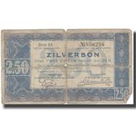 Billet, Pays-Bas, 2 1/2 Gulden, 1938, 1938, KM:62, B - [2] 1815-… : Kingdom Of The Netherlands