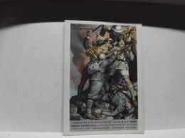 FRANCHIGIA   II  GUERRA  - ILL. GINO BOCCASILE -- DUE SONO CADUTI  Ecc..----  S.A.I. FIBRE TESSILI ARTIFICIALI - War 1939-45