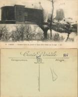 D - [505135]B/TB//-France  - (59) Nord, Cassel, Ancienne Eglise Des Jésuites Et Eglise Notre-Dame Sous La Neige, Eglises - Cassel