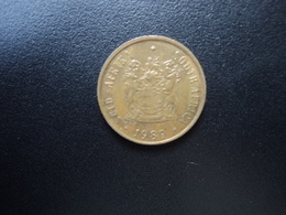 AFRIQUE DU SUD : 1 CENT   1989     KM 82      SUP - South Africa