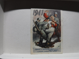 FRANCHIGIA   II  GUERRA  - ILL. GINO BOCCASILE --  1941  -- JOHN BULL- --  MOTO  BENELLI - War 1939-45