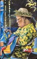 POLYNESIE FRANCAISE  -  PhoneCard  -  Les Mamas (robe Jaune)  -  30 Unités  -  PF 69 - French Polynesia