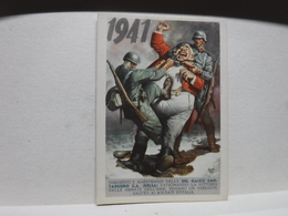 FRANCHIGIA   II  GUERRA  - ILL. GINO BOCCASILE --  1941  -- JOHN BULL- --  DEL GAIZO SANTARSIERO  S.A. D'ELSA - War 1939-45