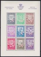 Belgie .   OBP .   Blok 10A    .   * .    Ongebruikt Met Charnier.   /   .  Neuf Avec Charniere - Blocks & Sheetlets 1924-1960