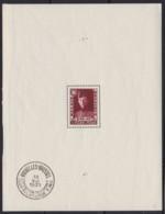 Belgie .   OBP .   Blok 3  (zegel: **)  2 Scans     .   * .    Ongebruikt Met Charnier.   /   .  Neuf Avec Charniere - Blocks & Sheetlets 1924-1960