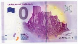 CUCUGNAN (Aude) : Château De Quéribus - 2017 - EURO