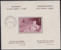Belgie .   OBP .   Blok 8  (zegel: **)      .   * .    Ongebruikt Met Charnier.   /   .  Neuf Avec Charniere - Blocks & Sheetlets 1924-1960