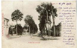 Avesnes-sur-helpe -Route De Landrecies Voyagee 1902-Ed Leprohon - Avesnes Sur Helpe