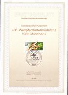 BRD FGR RFA - Weltpfadfinderkonferenz (MiNr: 1254) 1985 - ETB 16/1985 - BRD