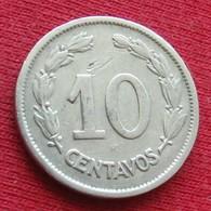 Ecuador 10 Centavos 1937 KM# 76 Equador Equateur - Ecuador