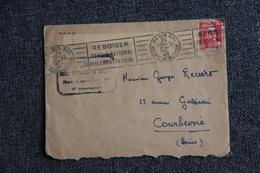 Lettre De PARIS  XVII  Vers COURBEVOIE. - Briefe U. Dokumente