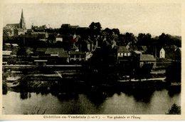 35 CHATILLON En VENDELAIS Vue Générale Et L'étang - Other Municipalities