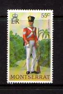 MONTSERRAT    1978    Military  Uniforms    55c  Sergent    MNH - Montserrat