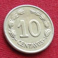 Ecuador 10 Centavos 1946 KM# 76b  Equador Equateur - Ecuador