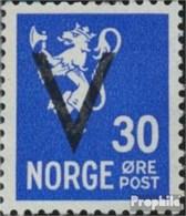 Norwegen 248X Gestempelt 1941 Aufdruckausgabe - Usados