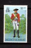 MONTSERRAT    1978    Military  Uniforms    $1-50   Officer    MNH - Montserrat